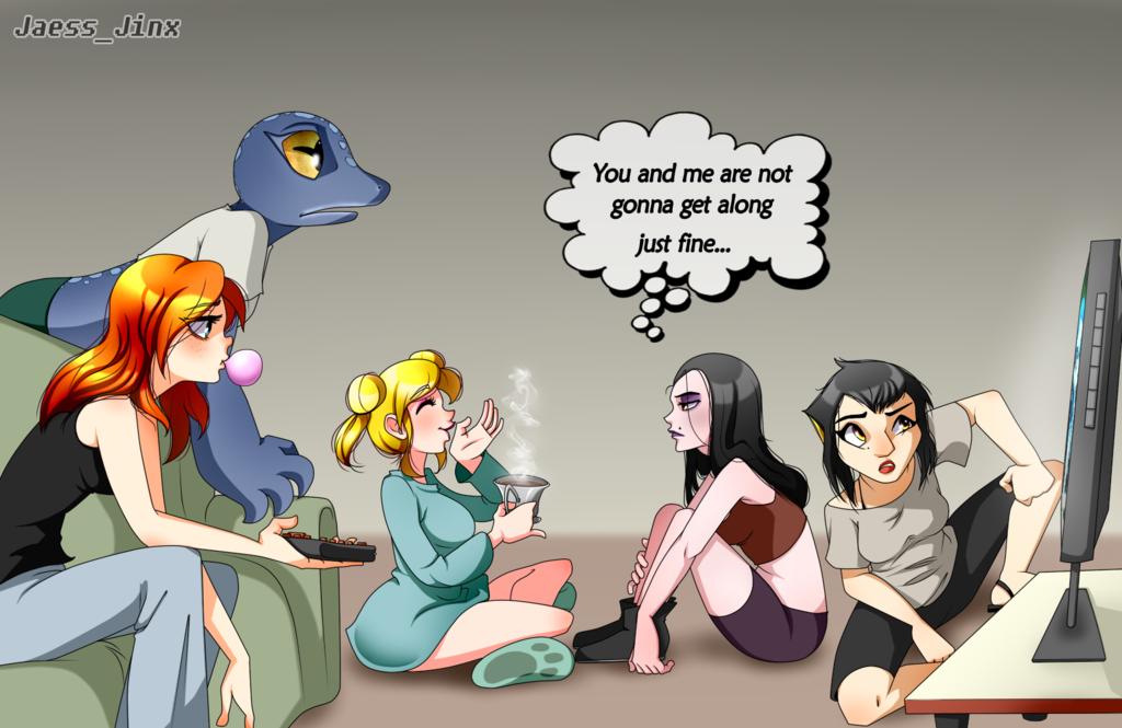 Girls+night+out!!+by+JaessJinx.deviantart.com+on+@DeviantArt