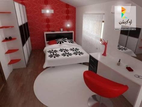 30 تصميم من اشيك ديكور غرف النوم للمتزوجين 2016 لوكيشن ديزين نت ديكور تصميم اثاث Red Bedroom Walls White Bedroom Decor Red Bedroom Decor