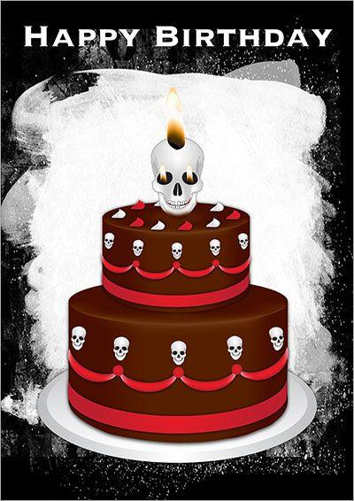 Printable Gothic Cards Happy Birthday Gothic Happy Birthday Pictures Birthday