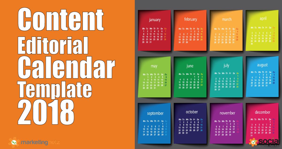 Content Marketing Trends Predictions  Editorial Calendar