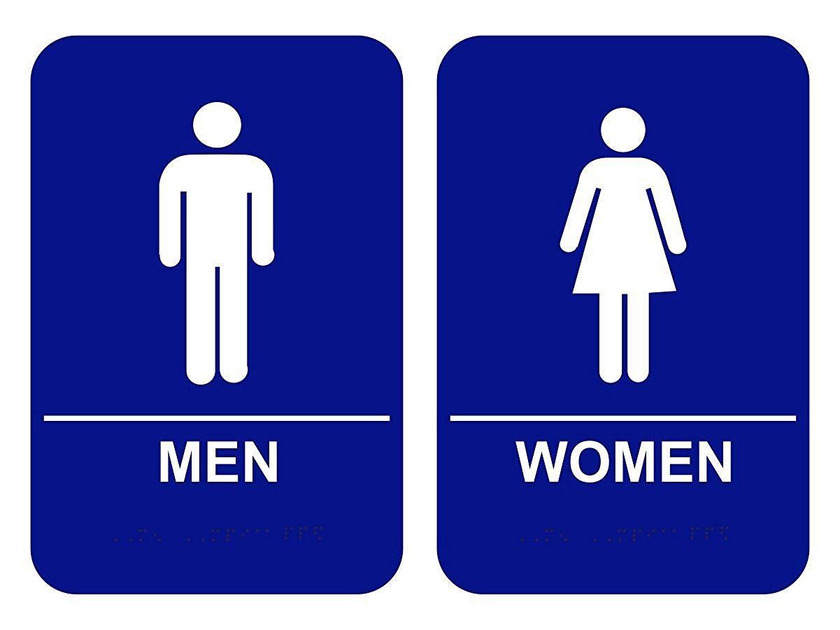Funny Womens Bathroom Sign Bathroom Ideas Pinterest Room - Ladies and gents bathroom signs for bathroom decor ideas