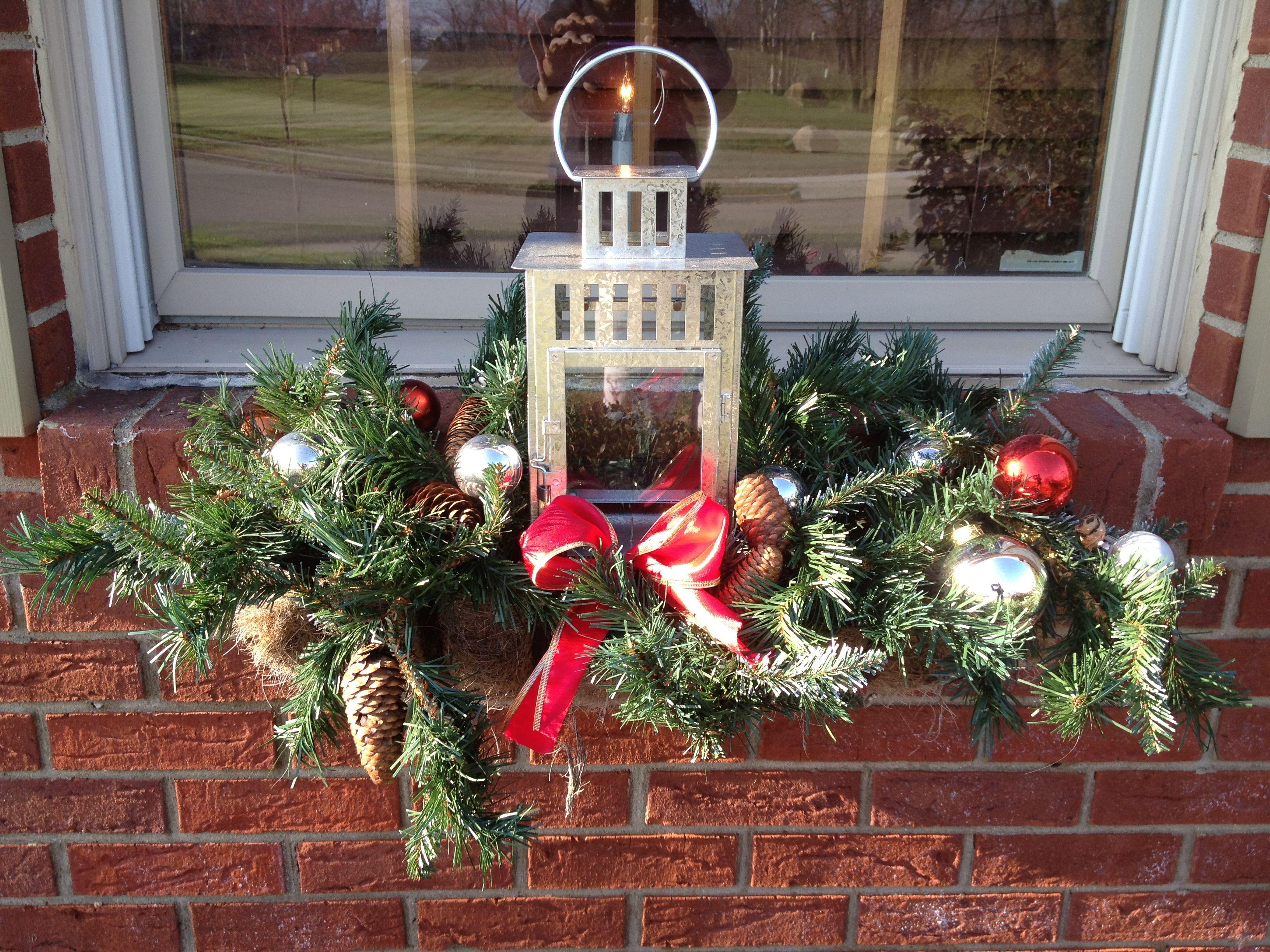 Christmas window box | Christmas Crafts | Pinterest ...