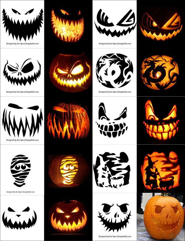 Free-Printable-Scary-Halloween-Pumpkin-Carving-Patterns-Stencils ...