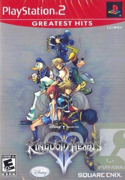 Kh2 Cover Kingdom Hearts Kingdom Hearts Ii Games Images