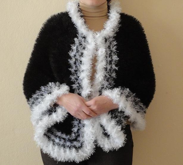 Вязание спицами для женщины из травки схема 395