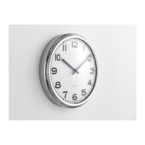 PUGG Wall Clock Stainless Steel