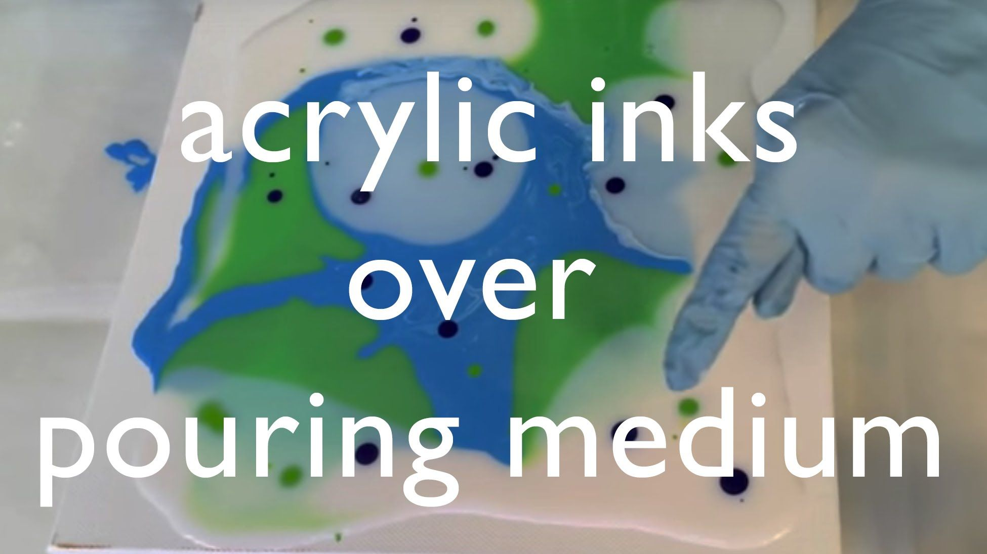 Pittura Acrilica Video Acrylic Inks With Pouring Medium Video Tutorial Excellent