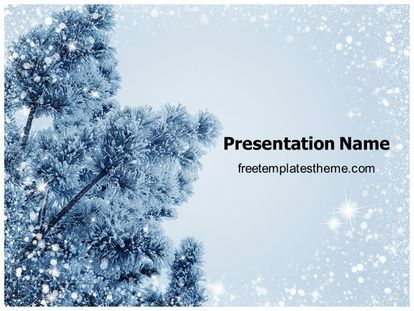 Download Free Winter Powerpoint Template For Your Powerpoint