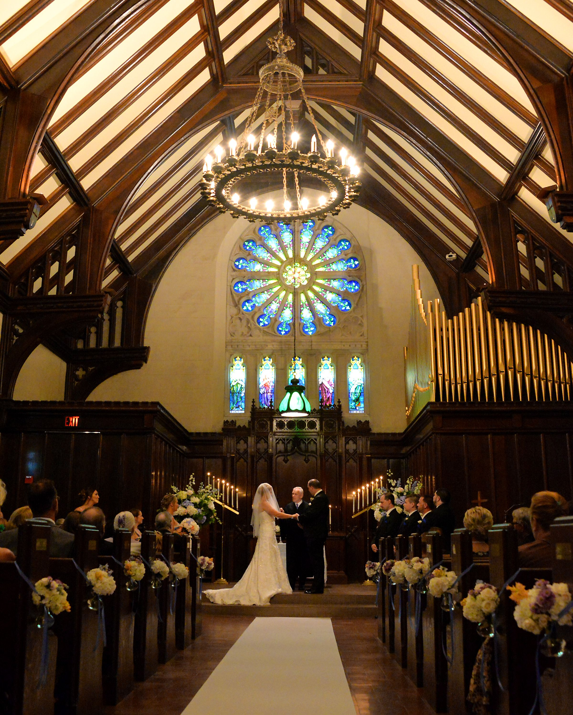 Wedding Chapel Decoration Ideas: Amanda And Nick's Wedding Vows
