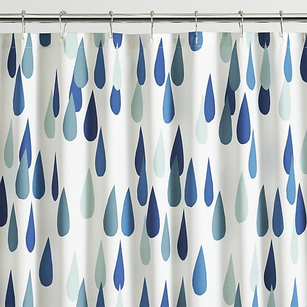Marimekko Iso Pisaroi Shower Curtain Crate And Barrel Colors Might Not Be Quite Right