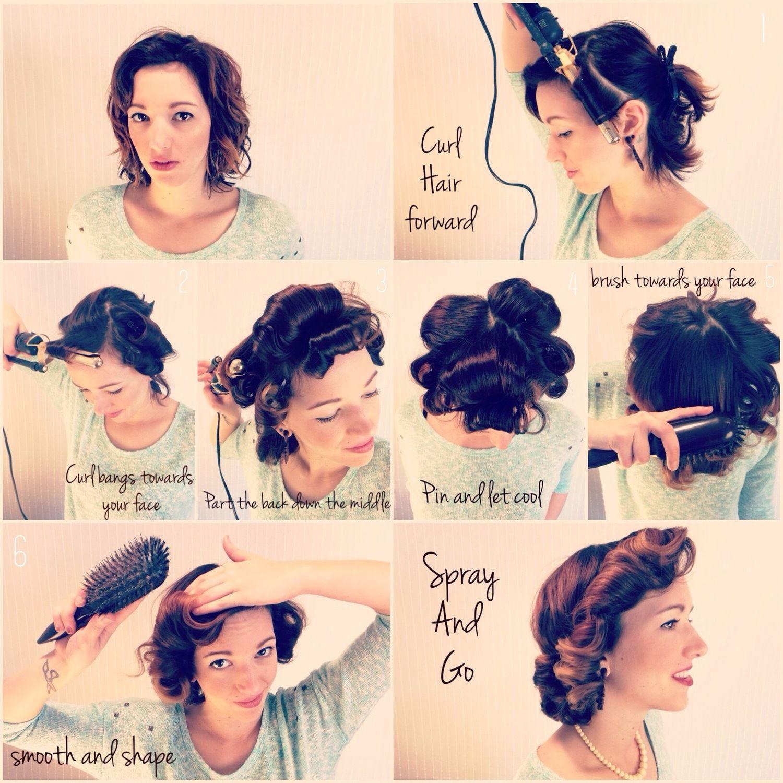 How To Retro 1950 S Housewife Kalea Renee 1950s Housewife Hair Hair Styles 1950s Hairstyles