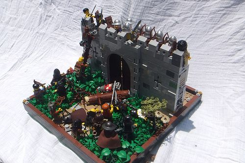 Attack on the castle of Evorth by Sir Robert of Evorth on Flickr