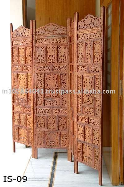Wooden Room Divider Folding Dividers Screen Decorative Screens Movable Walls