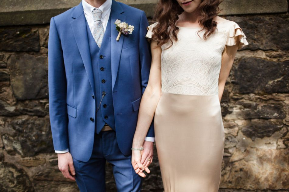 Beautiful Belle & Bunty Silk and Vintage Posies for a Laid Back and Glamorous Glasgow Wedding | Love My Dress® UK Wedding Blog