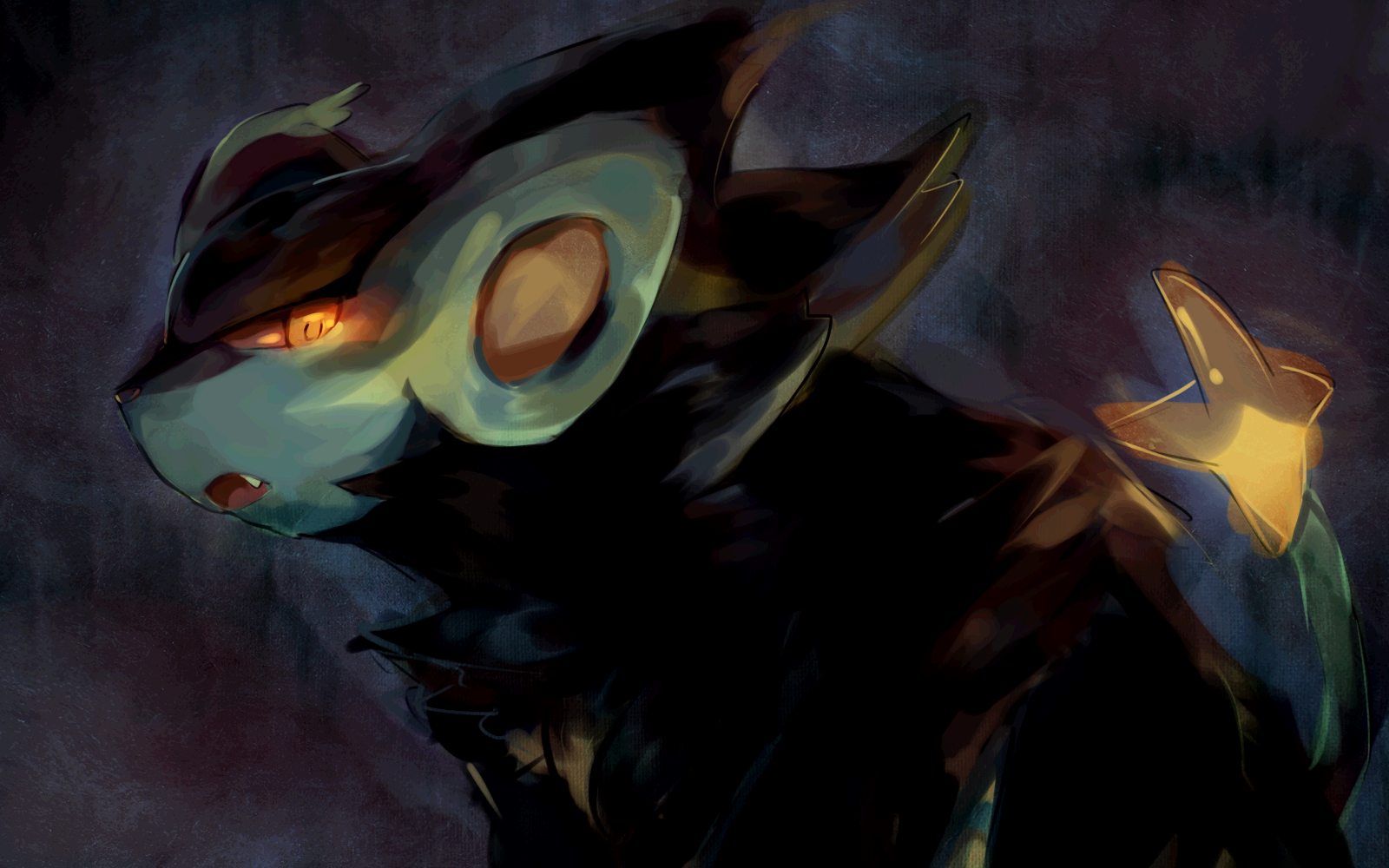 Pokemon Luxray 1440x900 Wallpaper 789525