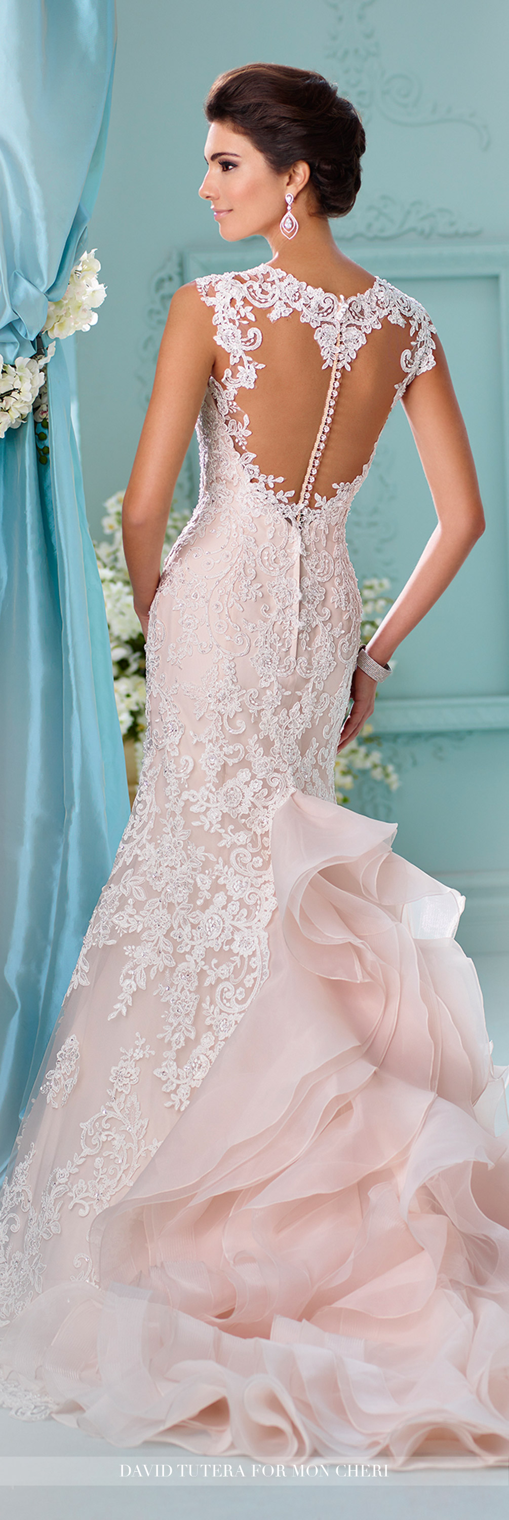 Wedding dresses u spring david tutera lace wedding