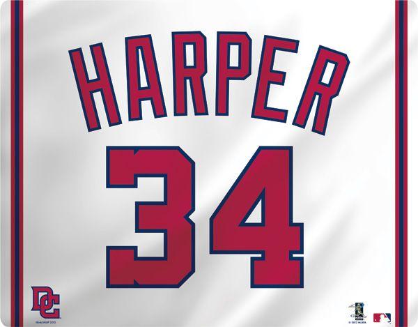 8516cc021 Bryce Harper Jersey