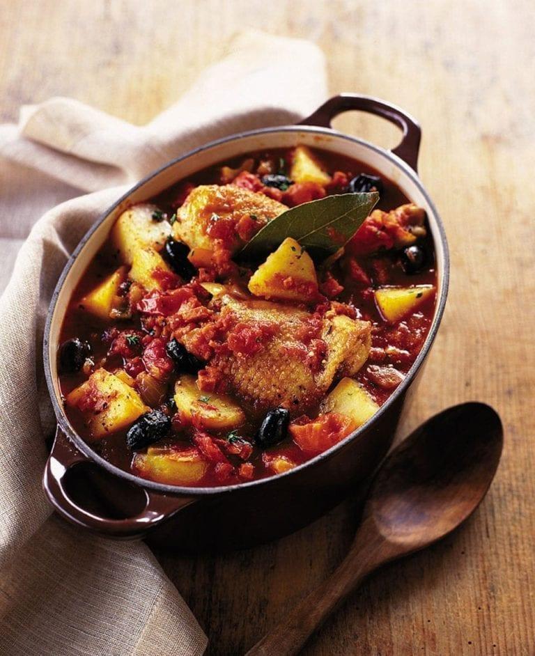 Spanish chicken and potato stew Recipe Favorite