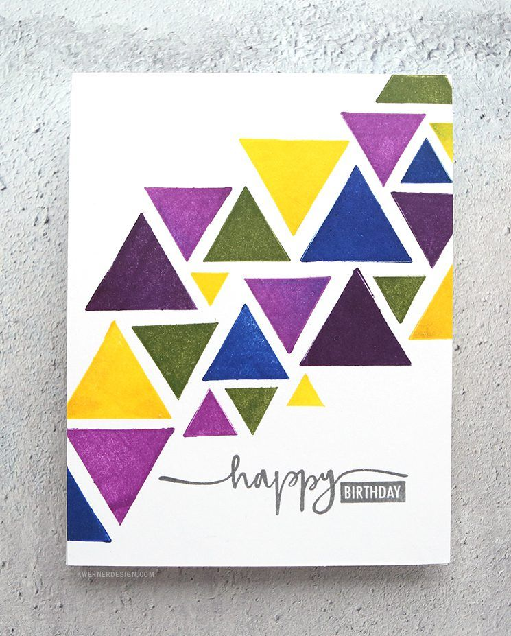 10 Minute Card Challenge New Versafine Clair Inks With Images