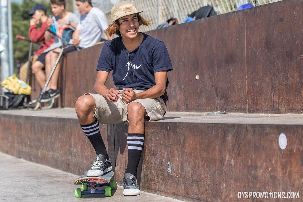 2ac9c850bde calcetines altos skate rallas skateboarding american socks skateboarding old  school knee high