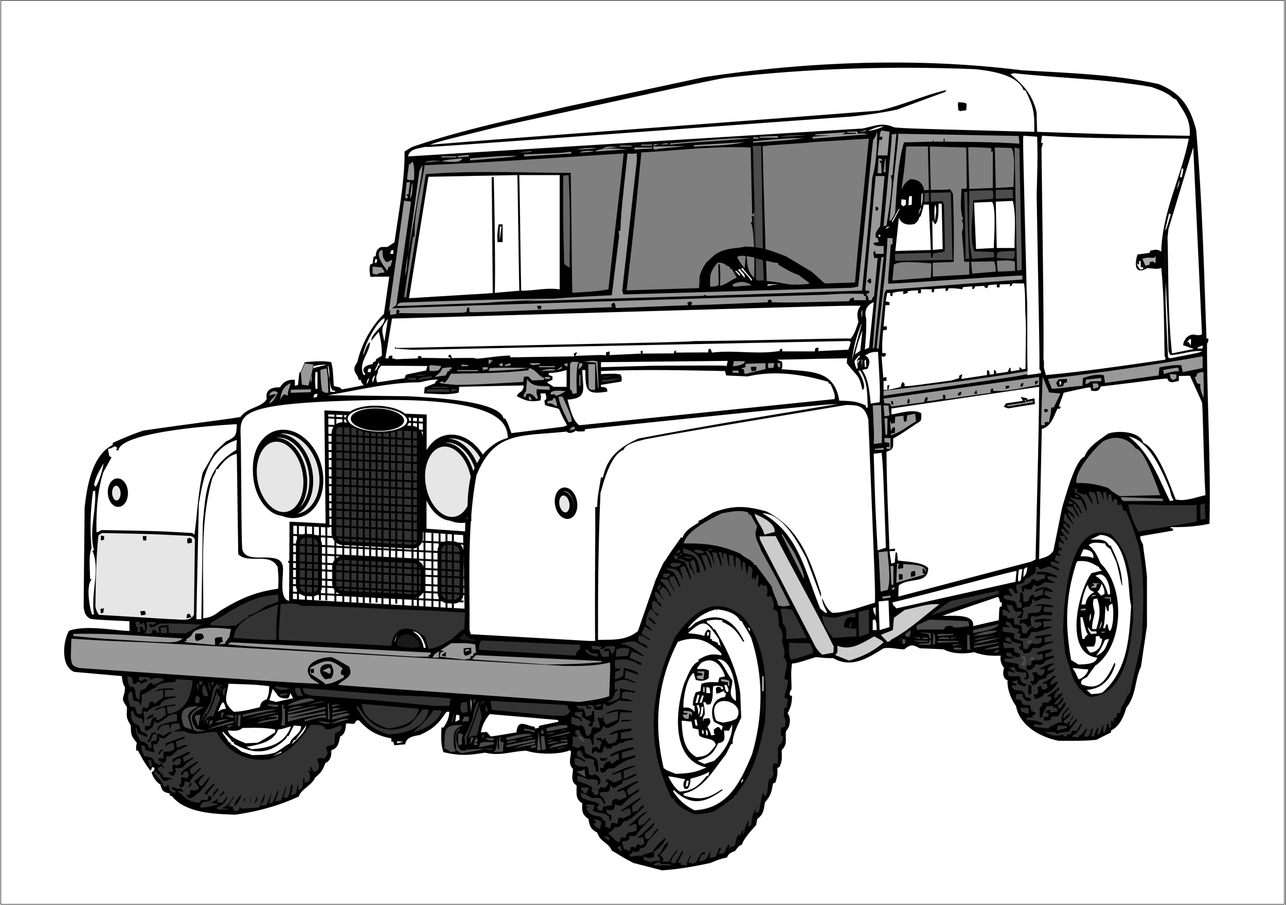 landrover - Google zoeken | Coloring Pages | Pinterest | Land rovers ...