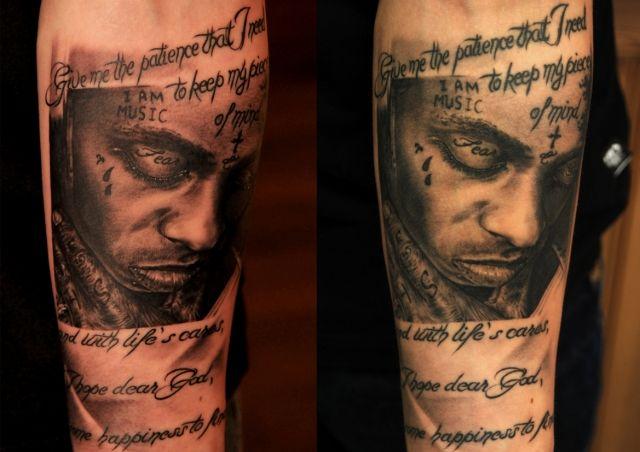 Tattoo by Andy Engel (new tattoo / healed tattoo)