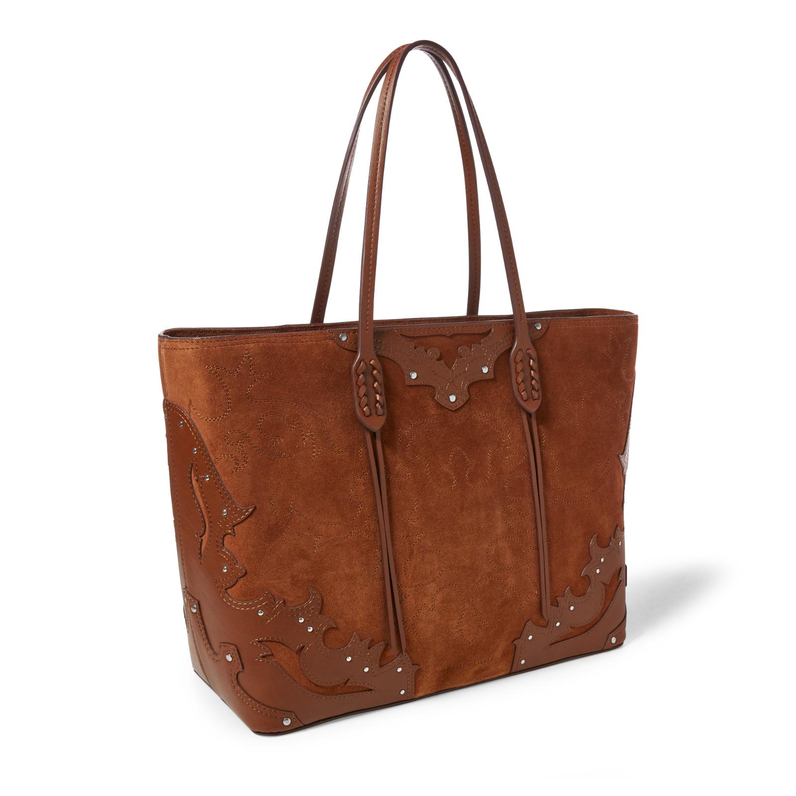 f722234fb791 165.00   Polo Ralph Lauren Womens Embroidered Zip Tote Suede Leather  Shoulder Bucket Bag ❤ #lauren #womens #embroidered #leather #shoulder  #bucket ...