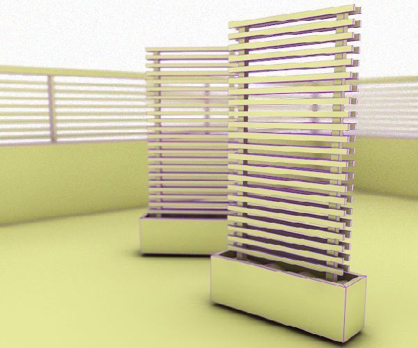 Mobile green fence concept ://www.greendiary.com/mobile-green ... on florida backyard deck, florida backyard pools, florida backyard landscaping ideas,