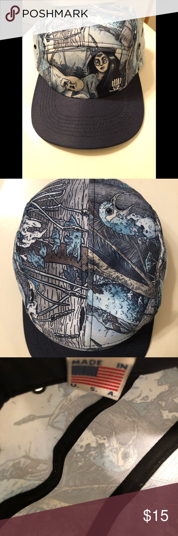Jedi mind tricks thief and fallen hip hop 5 panel (With