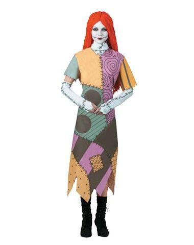 Nightmare Before Christmas Sally Adult Costume Halloween / Fall - halloween girl costume ideas