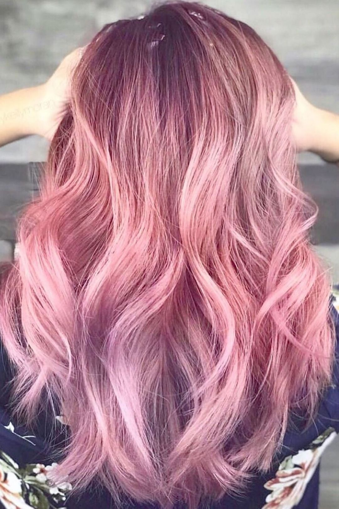 Photo of Ombre Hair Magenta