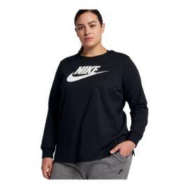 8c5becec87c95 Nike Sportswear Women s Long Sleeve Plus Size Shirt