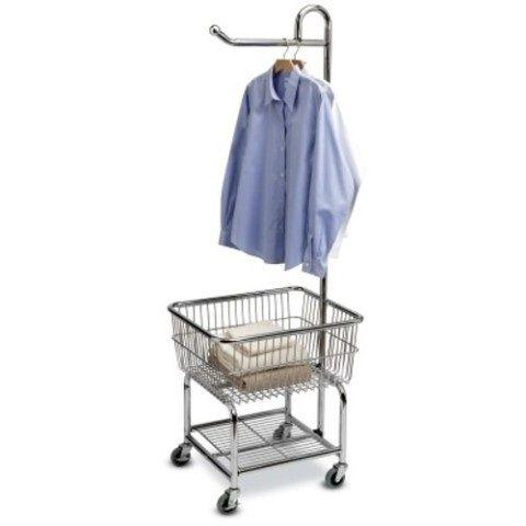 Tvatthjalp Tvattkorg Pa Hjul Laundry Butler Krom Laundry