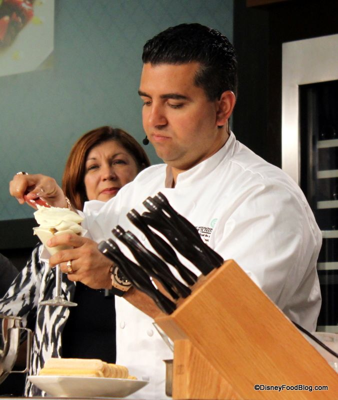 359 MB Review Cake Boss Buddy Valastros Culinary Demo at the