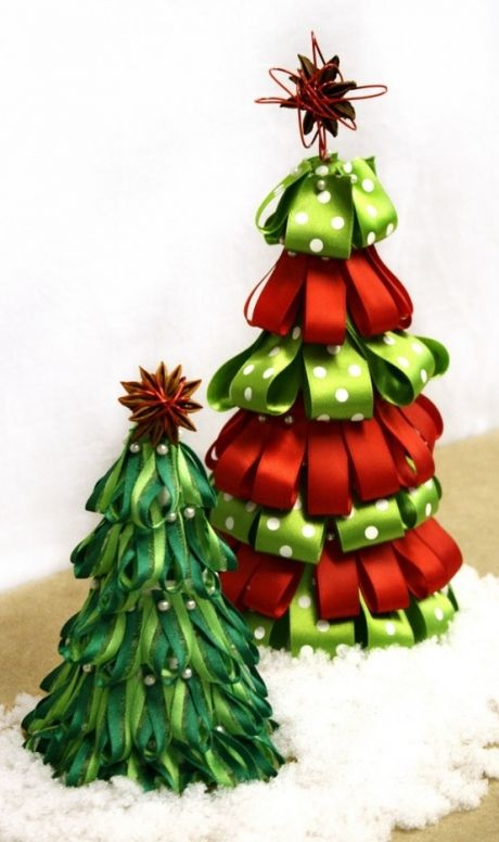 El sofa amarillo rboles de navidad originales 3 - Arboles de navidad manualidades navidenas ...