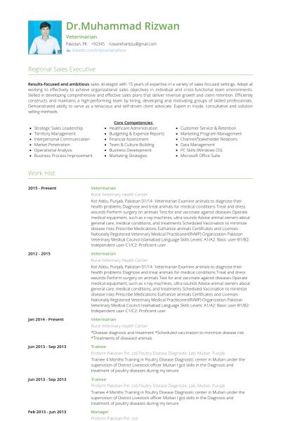 resume format veterinary doctor resume format pinterest resume
