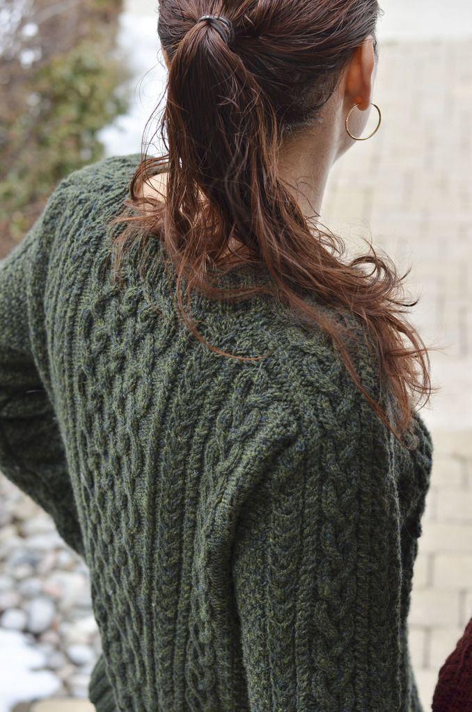 PATTERNFISH - the online pattern store   aran sweaters ...