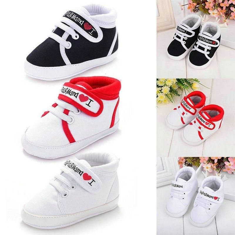 Chic Leather Baby Infant Kids Girl Soft Sole Crib Toddler Newborn Shoes Comfort
