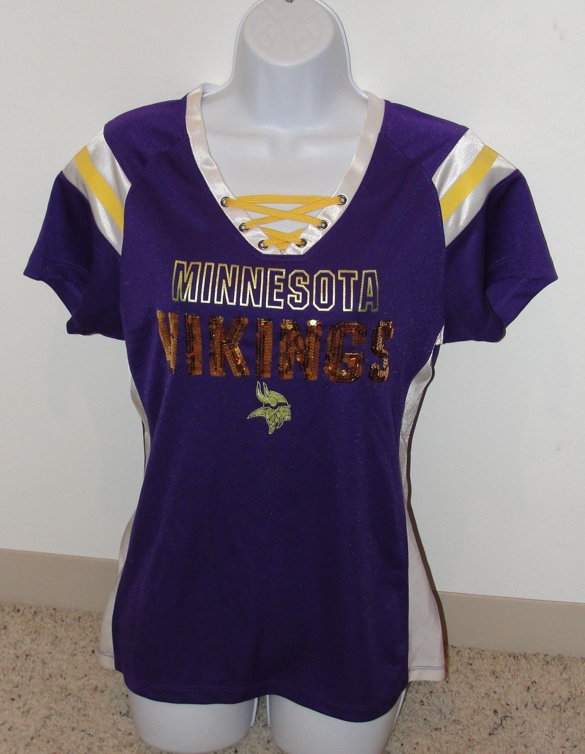 brand new 070ea 04d11 NFL Team Apparel 1st&Fashion Collection Minnesota Vikings ...