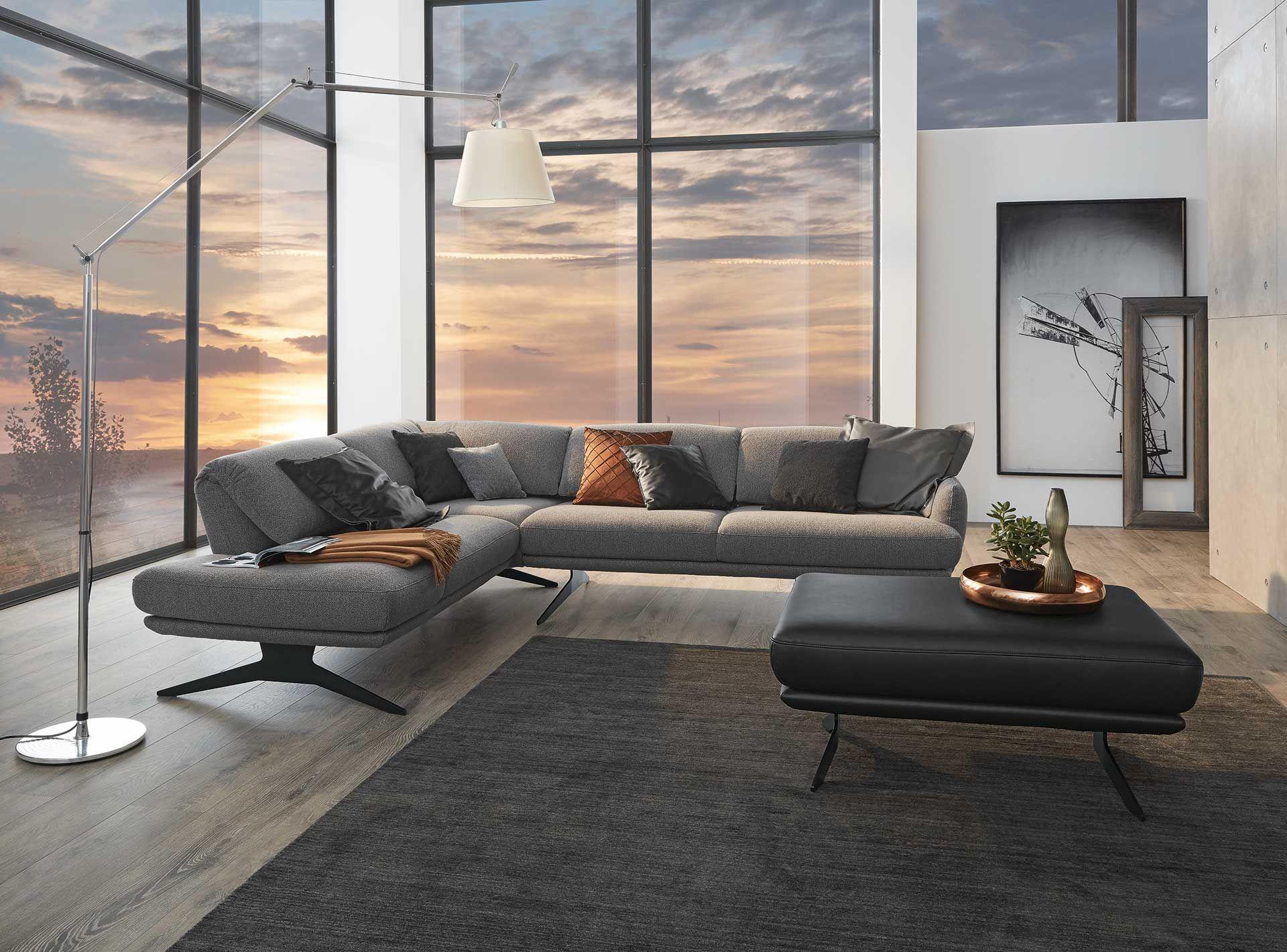 Möbeltrends 2019 Aktuelle Polstermöbel Und Betten Von Ada Hochwertige Möbel Haus Deko Sofa Design