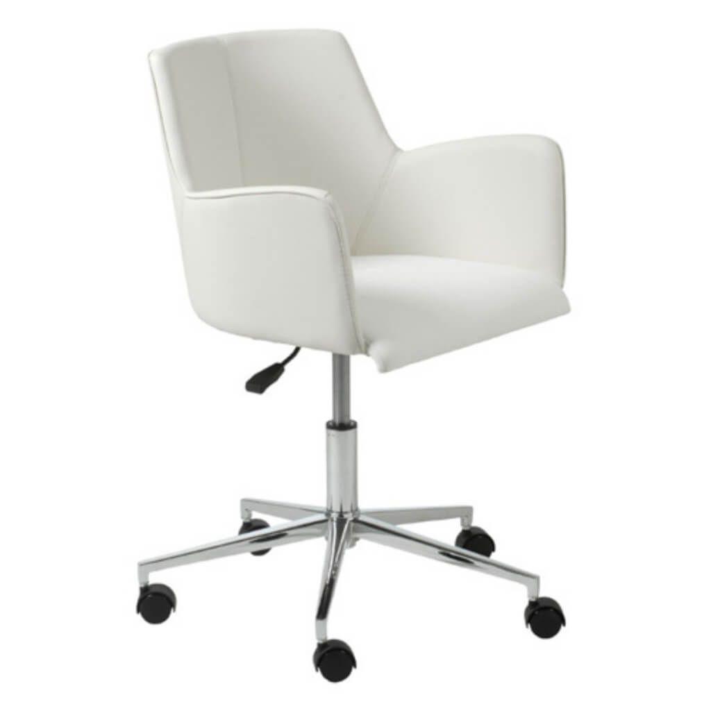 Weissen Drehsessel Schreibtisch Stuhl Adjustable Office Chair