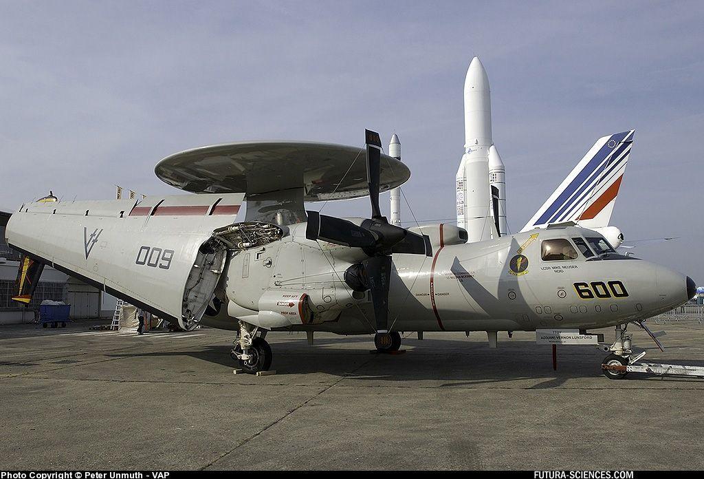 Grumman E2-C Hawkeye Salon du Bourget 2005