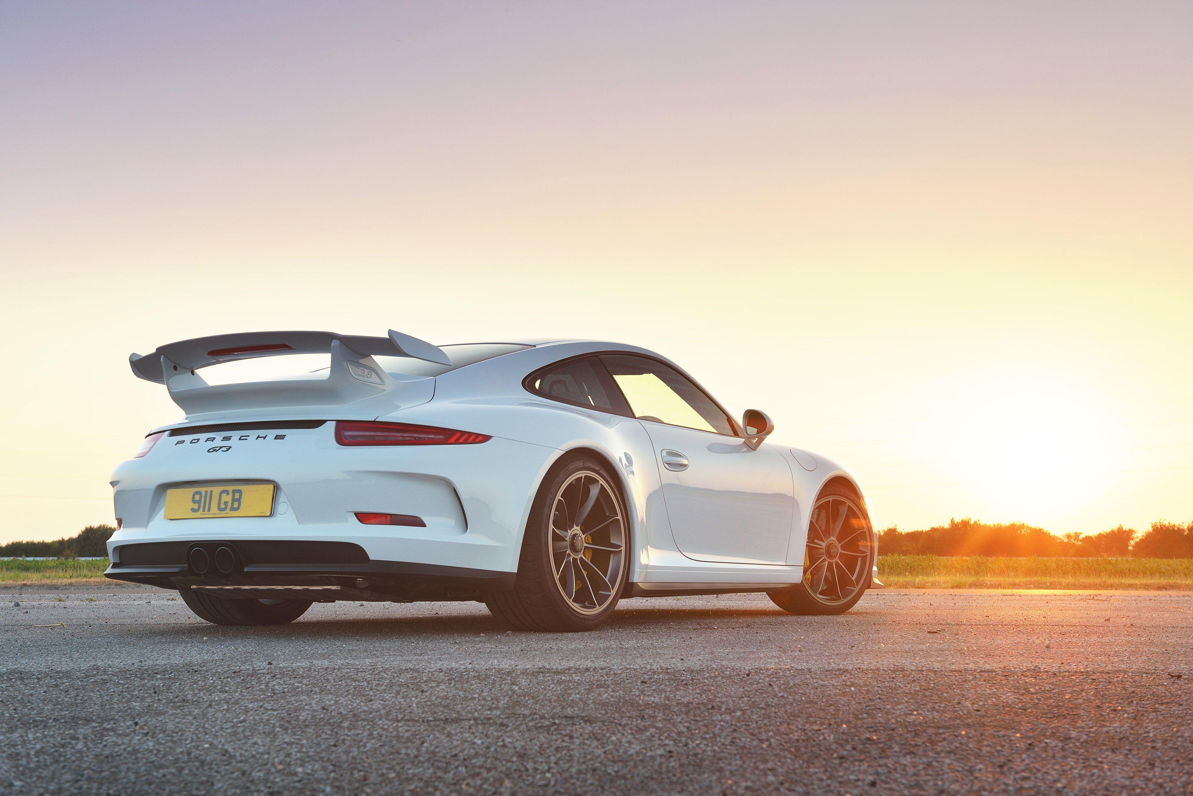 Porsche GT RS Rear HD Wallpaper