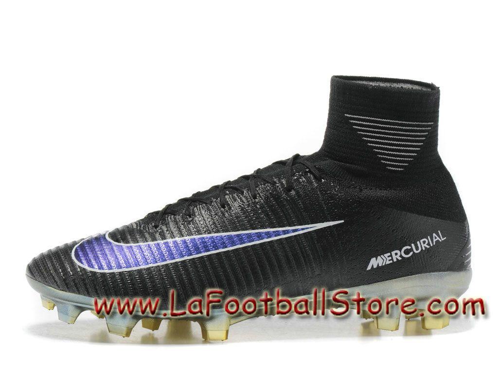 Nike Mercurial Superfly FG (Violet Rouge) chaussure de