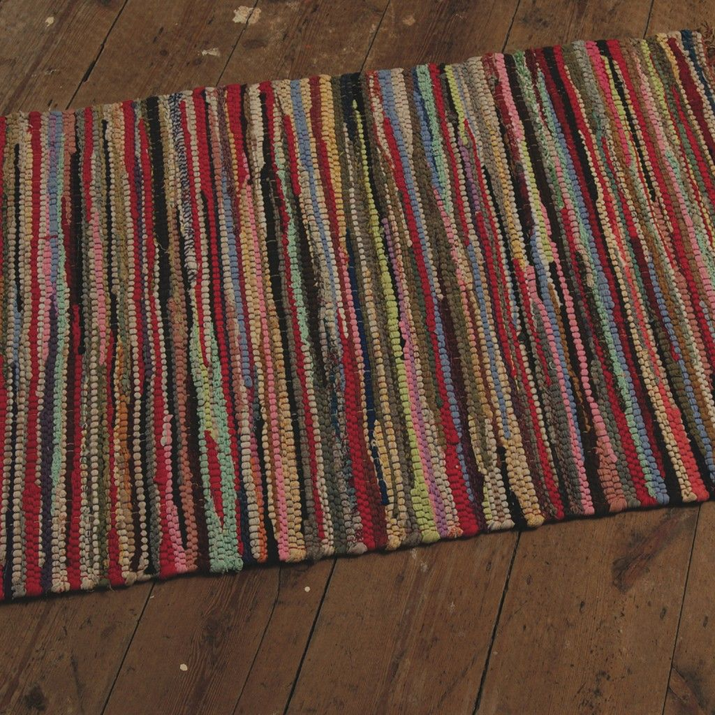 X Large Multi Coloured Rag Rug