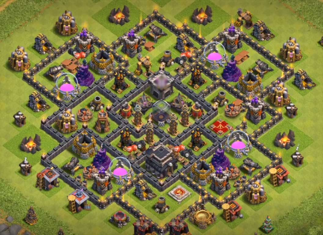 Th9 Best Defence Base 2019 4