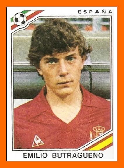 Emilio Butragueno 1986
