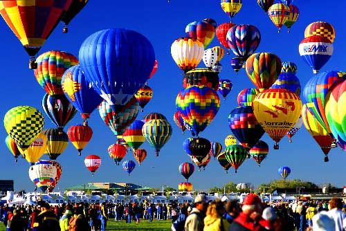 Image result for hot air balloon festival new mexico