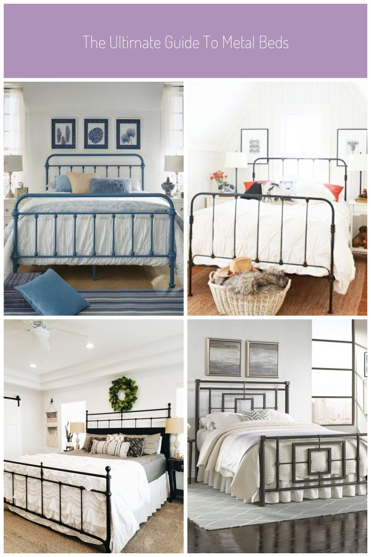 Metal Beds Weston Home Nottingham Metal Bed King Blue Steel