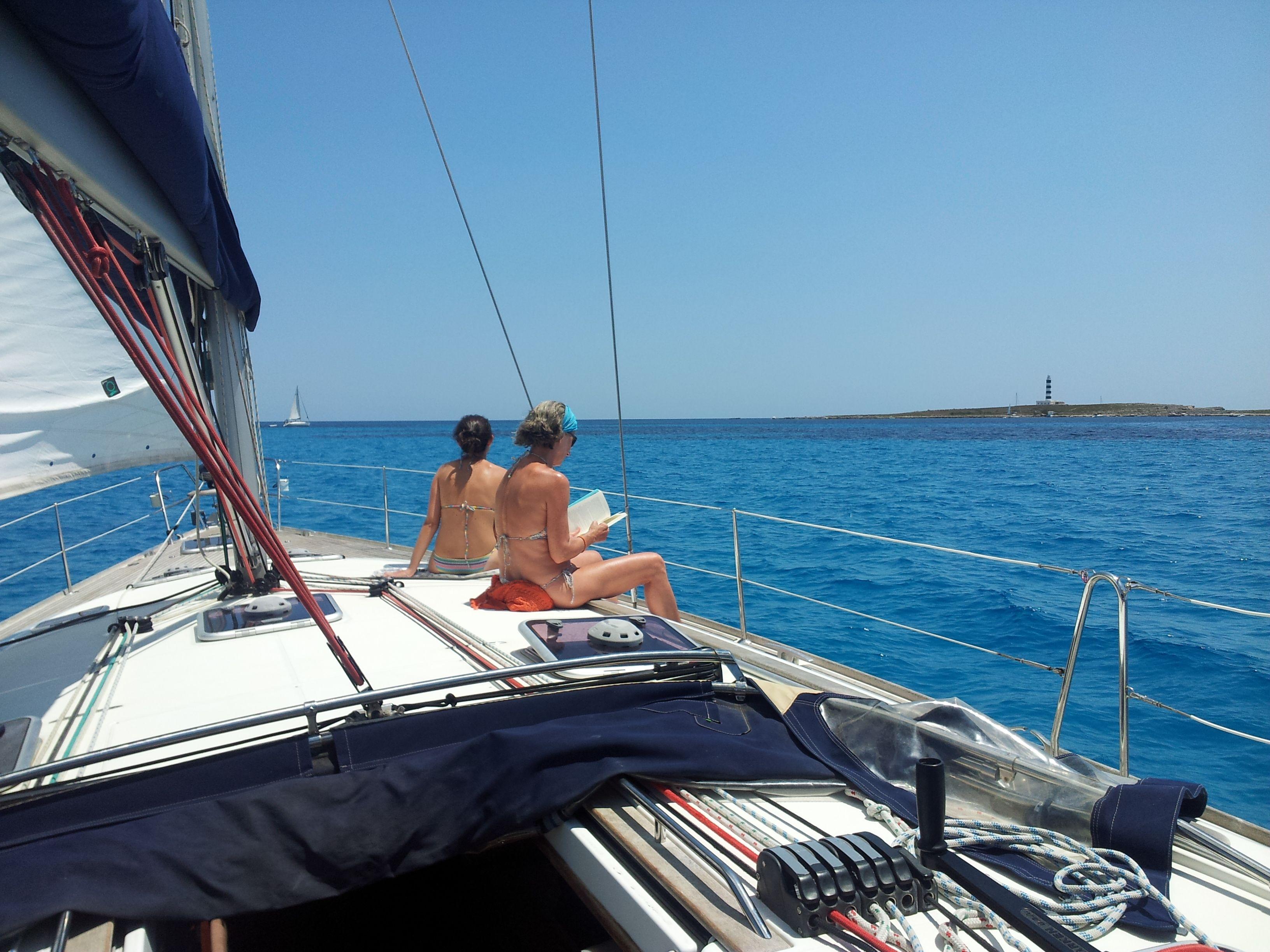 Alquiler De Veleros Veleros Menorca España Isla De Menorca